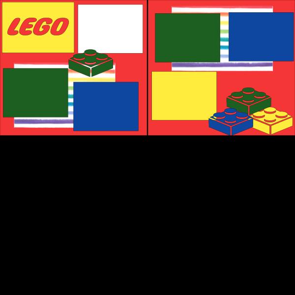 LEGO LEGOLAND  DISNEY  -basic page kit