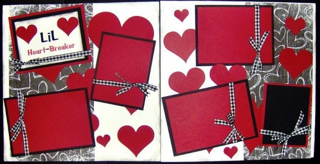 Little Heartbreaker Page Kit
