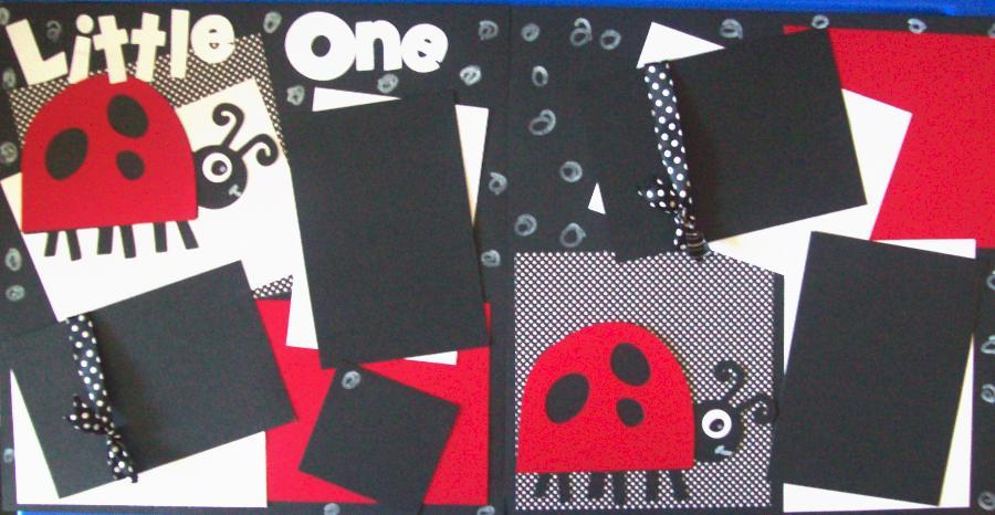 Little One Lady bug  Page Kit