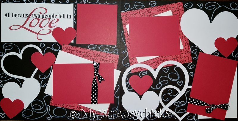 ALL BECAUSE 2 PEOPLE FELL IN LOVE  --   Page Kit
