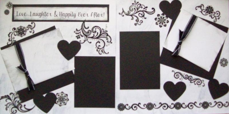 Love, Laughter and Happily ever After  --   Page Kit