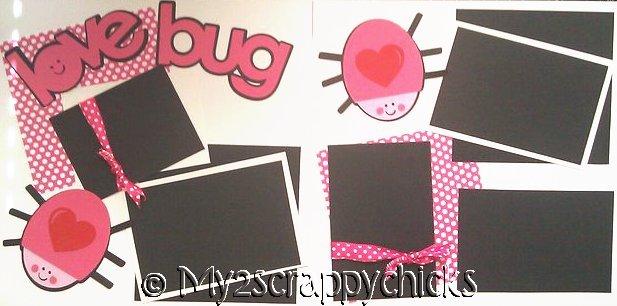 LOVE BUG  page kit