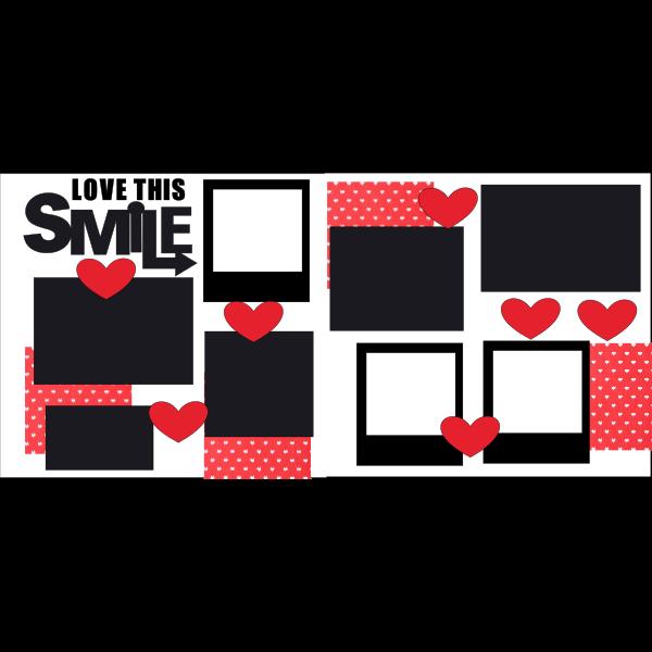 LOVE THIS SMILE  -basic page kit