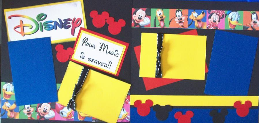 Disney Your magic is served Page Kit