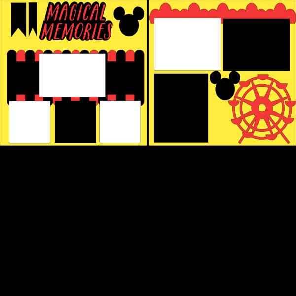 Making Magical Memories  --   Page Kit