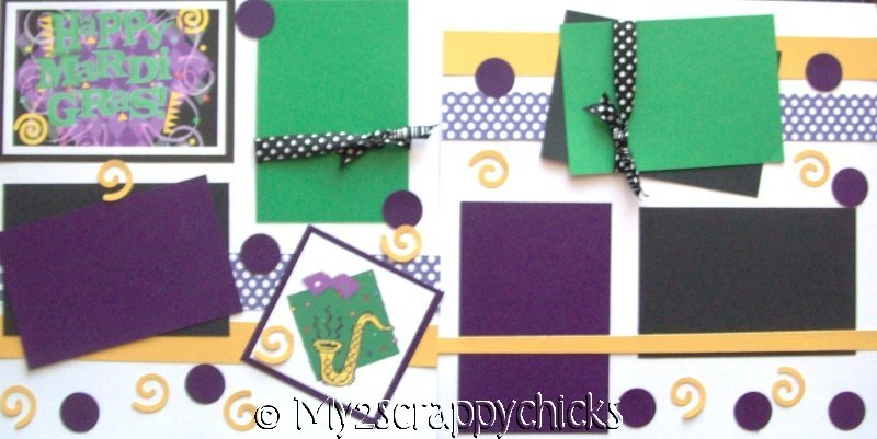 MARDI GRAS --   Page Kit