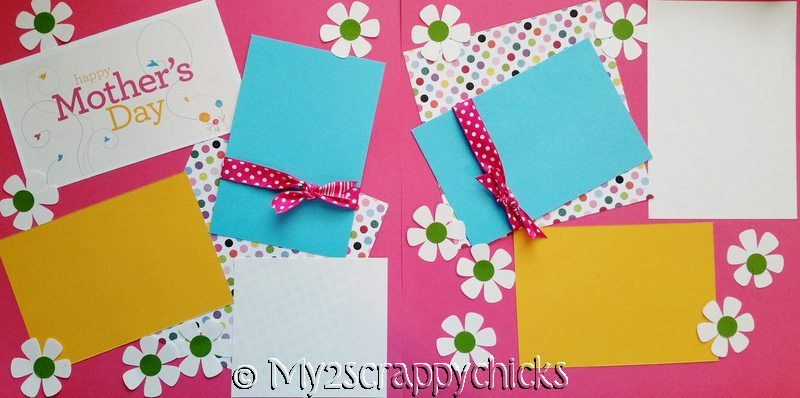 HAPPY MOTHER'S DAY PAGE kit