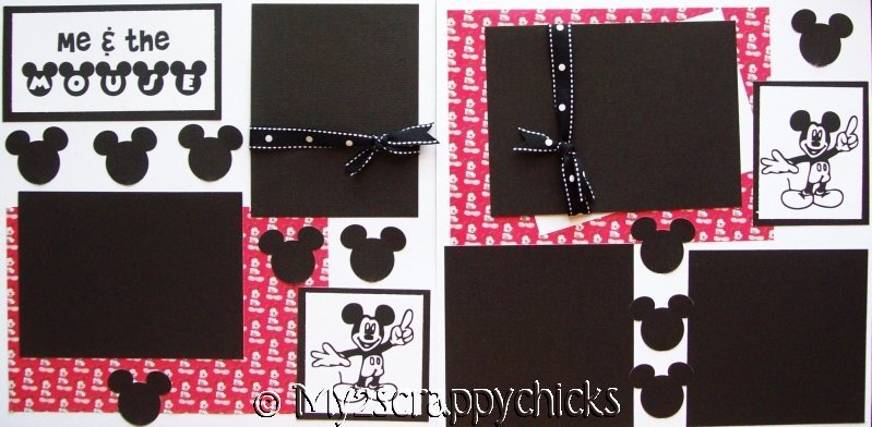 Disney Me and the Mouse --   Page Kit