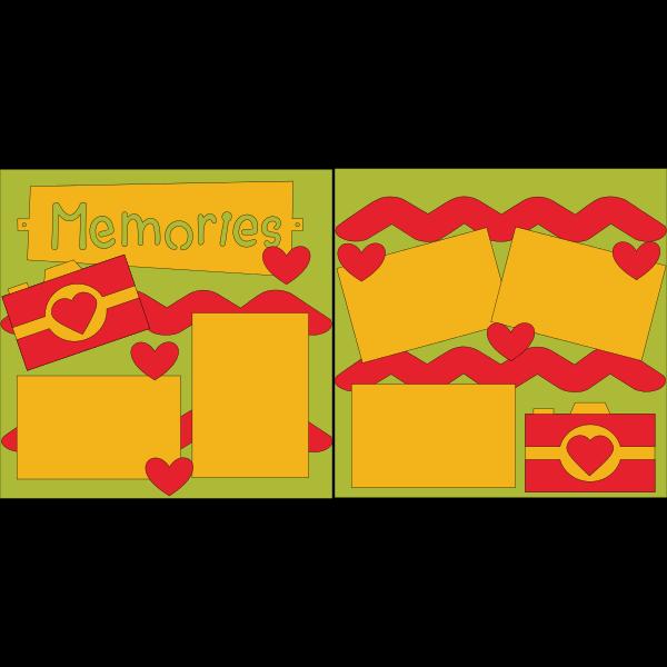 (Memories)  -basic page kit