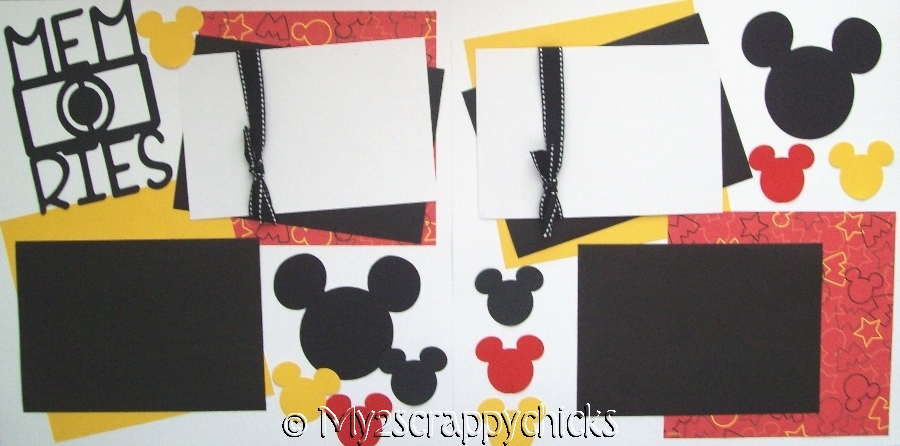 Disney Memories camera page kit
