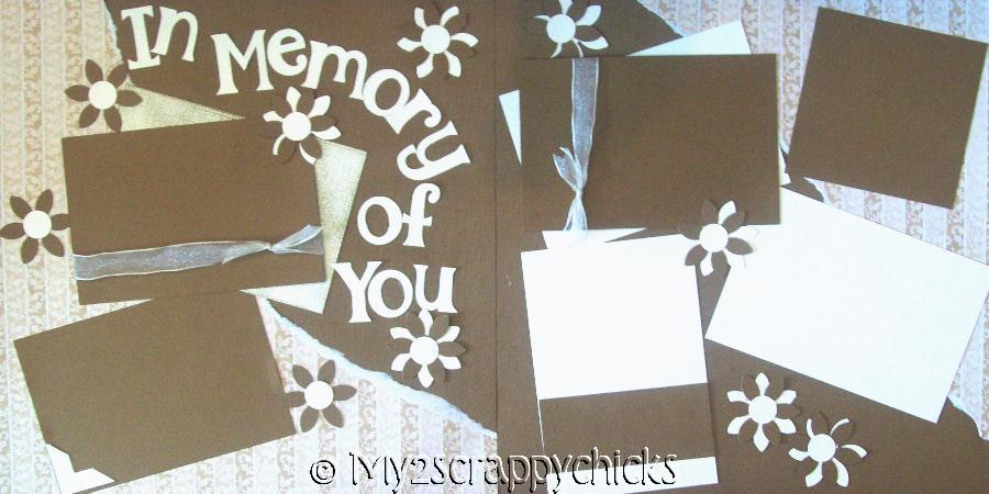 In memory of you    page kit