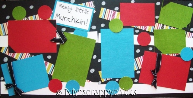 Messy Little Munchkin (s) --   Page Kit