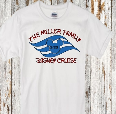 DISNEY FAMILY CRUISE PERSONALIZED SHIRTS SHIRTS
