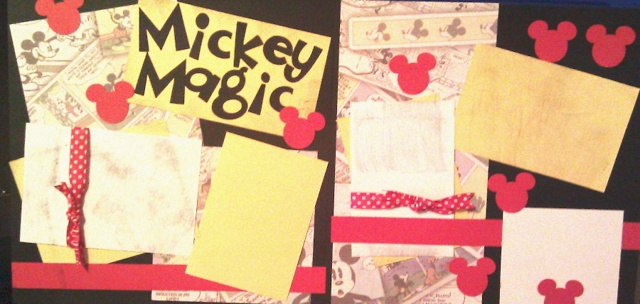 MICKEY MAGIC  -basic page kit