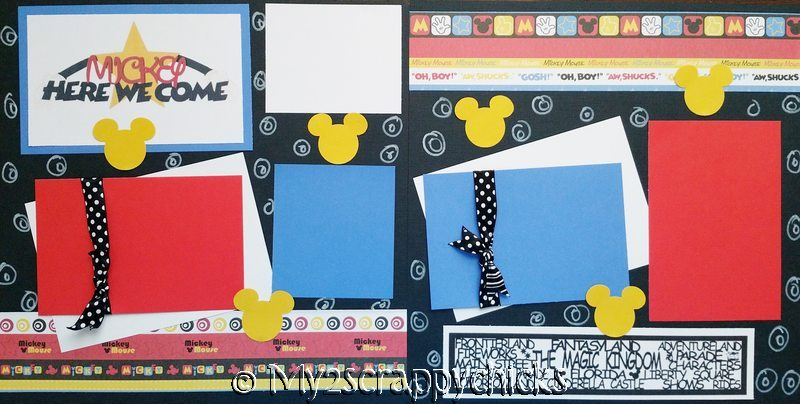 DISNEY MICKEY HERE WE COME PAGE KIT