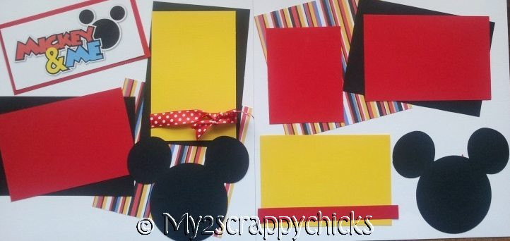 DISNEY MICKEY AND ME  Page Kit