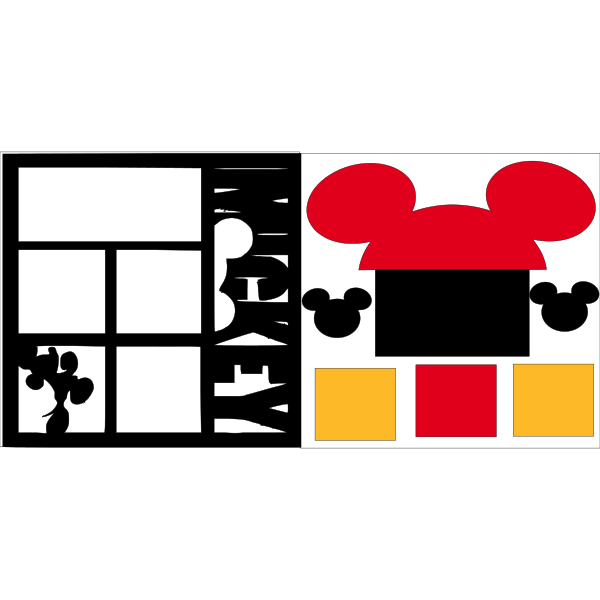 MICKEY  -DISNEY -basic page kit