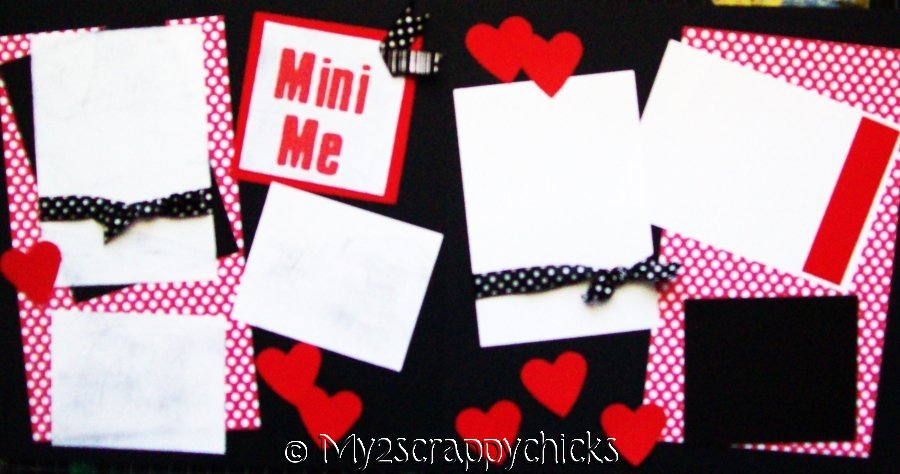 MY MINI ME!  page kit