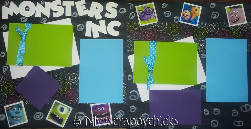 MONSTERS INC ***  - page kit