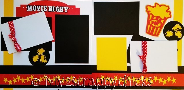 MOVIE NIGHT *****  page kit