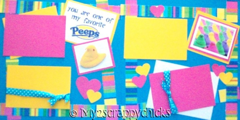 "Your one of my favorite ""PEEPS"" Easter ?  --   Page Kit"
