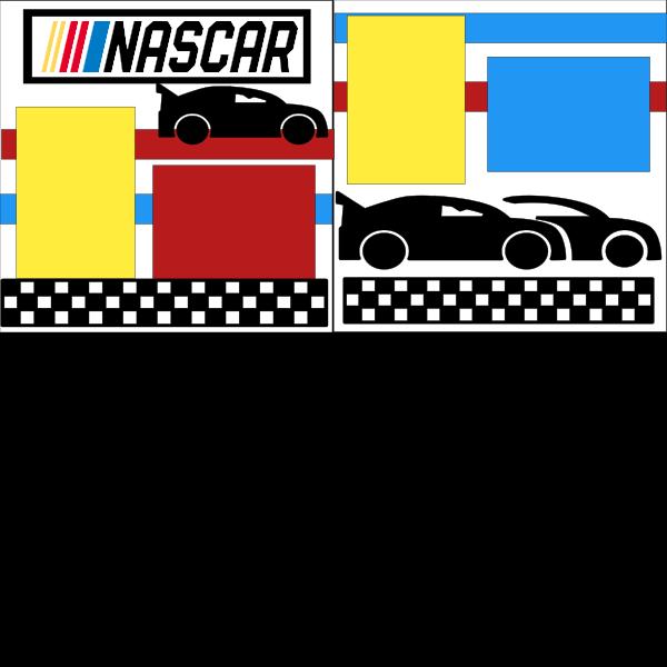 RACE CARS (NASCAR)  ... Page Kit