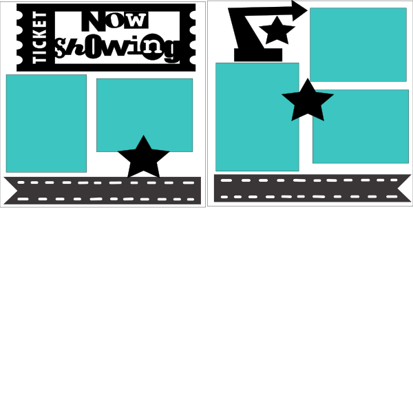 Now Showing (movie-theatre-broadway) --  page kit