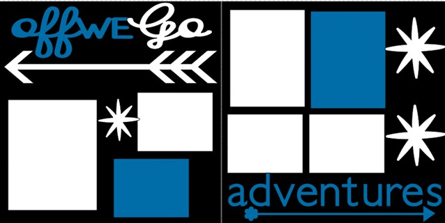 Off we go* Adventures  -  page kit