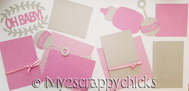 OH BABY -GIRL  page kit