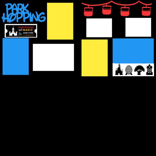 Park Hopping (Disney) --  page kit