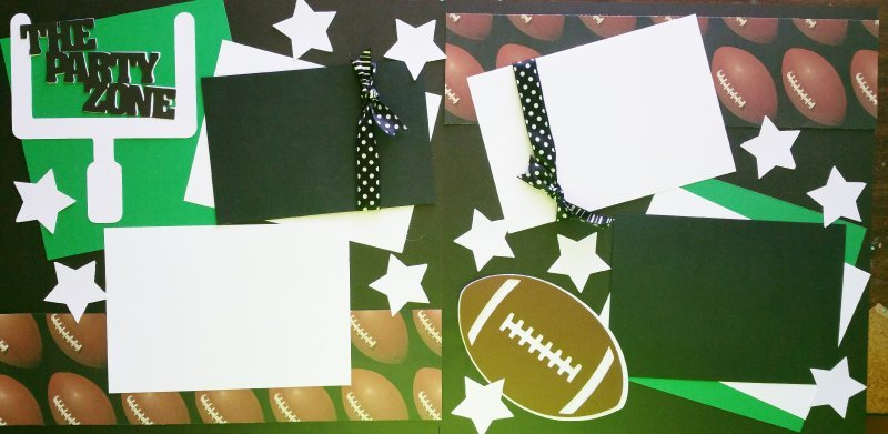 PARTY ZONE /FOOTBALL/ SUPERBOWL page kit