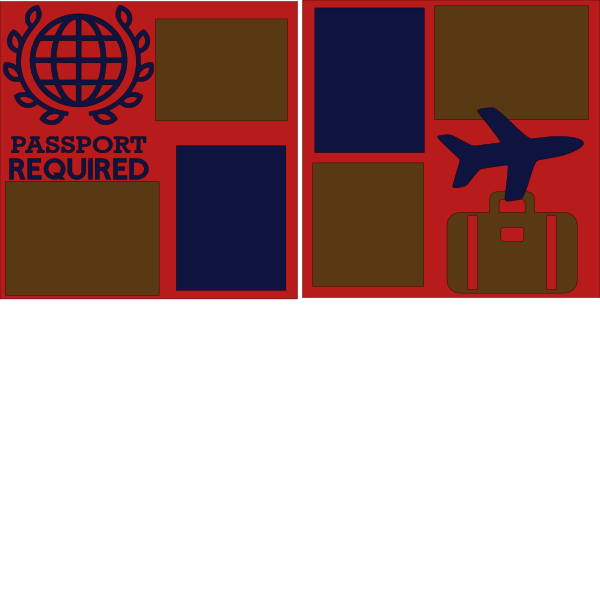 Passport Required Travel --  page kit