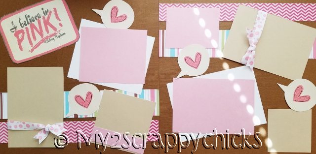 I BELIEVE IN PINK page kit