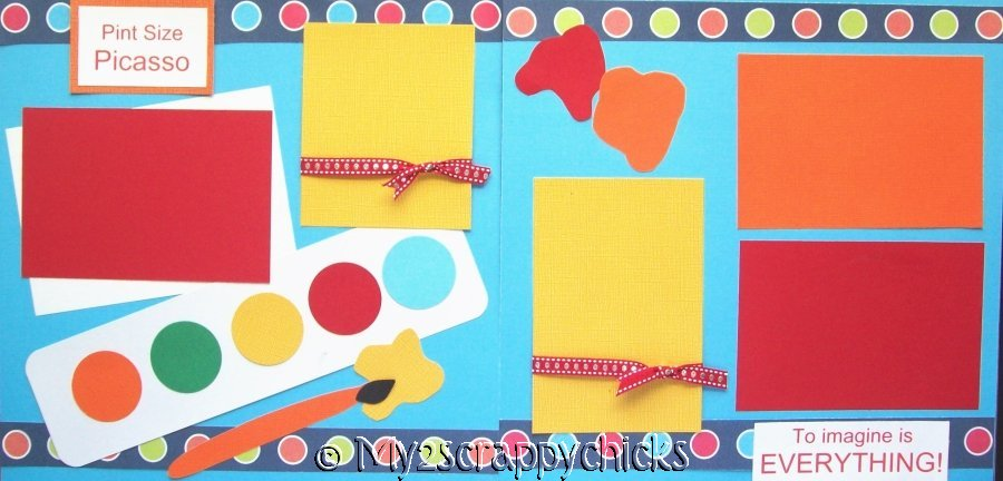 PINT SIZE PICASSO  page kit