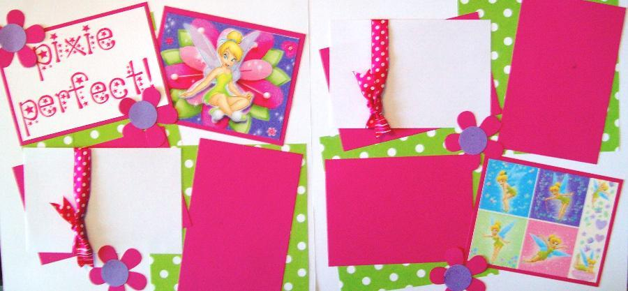 Pixie Perfect (Tinkerbell) page kit