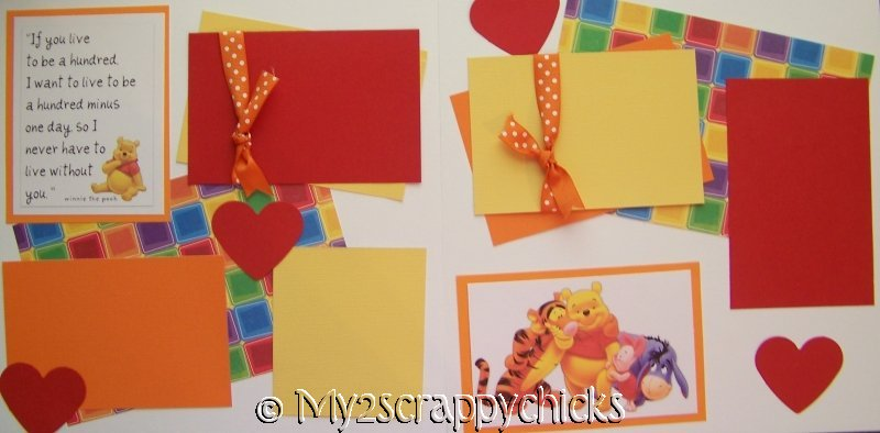 WINNIE THE POOH **  page kit