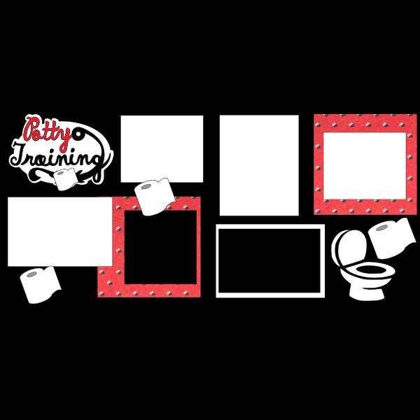 potty training  -basic page kit