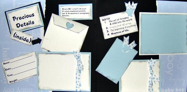 Precious Details boy  Page Kit