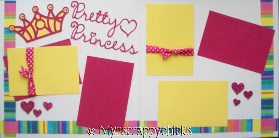 PRETTY AS A PRINCESS PAGE KIT