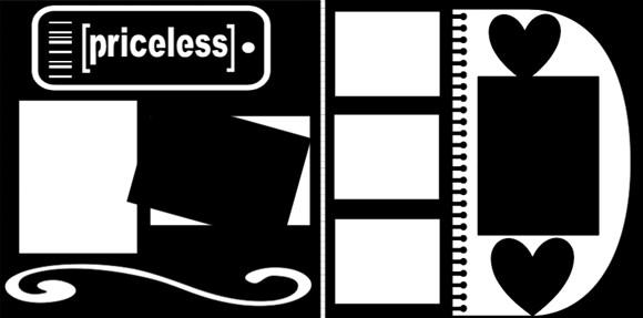 PRICELESS     -  page kit