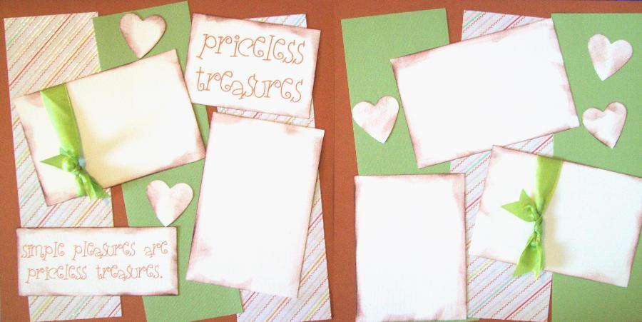 Priceless Treasures  --   Page Kit