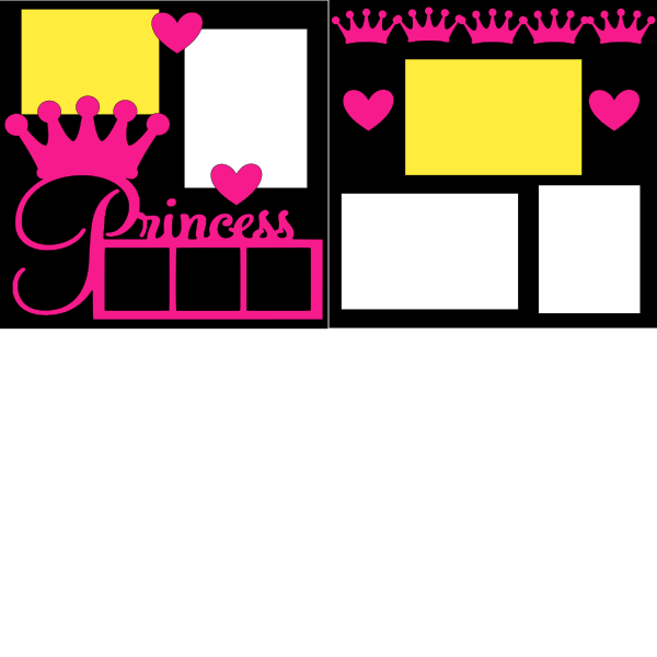 PRINCESS(FRAME)   -basic page kit