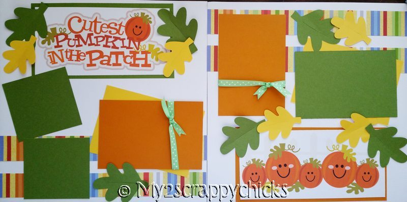 CUTEST PUMPKIN IN THE PATCH ****   page kit
