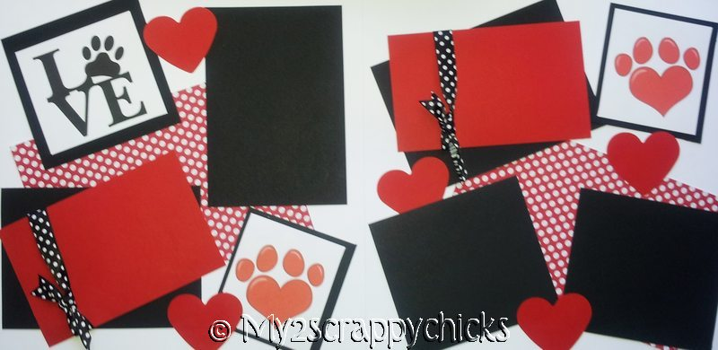 CAT/DOG LOVE  page kit