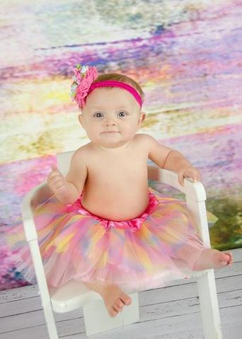 Infant Basic 3 Layer Tulle Dance Tutu