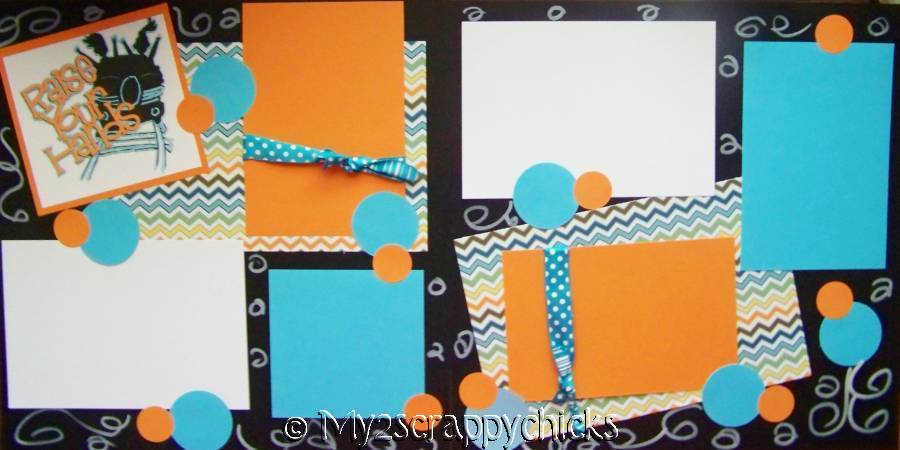 Raise Your Hands! Roller coaster or Disney page kit
