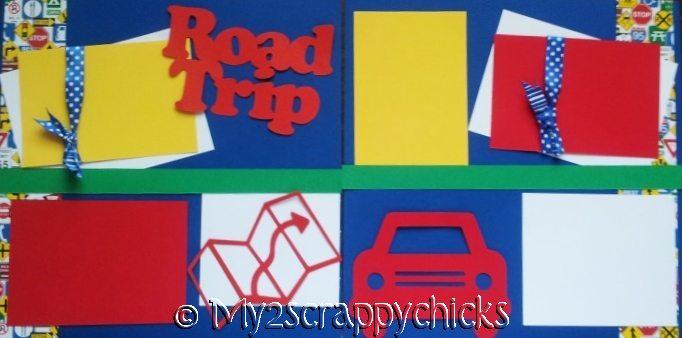 -ROAD TRIP- -basic page kit