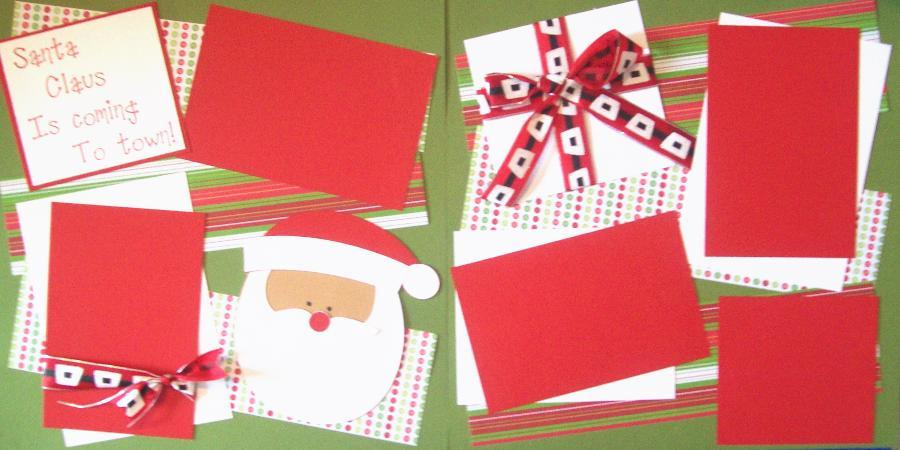 Santa Clause is coming to Town *  Page kit