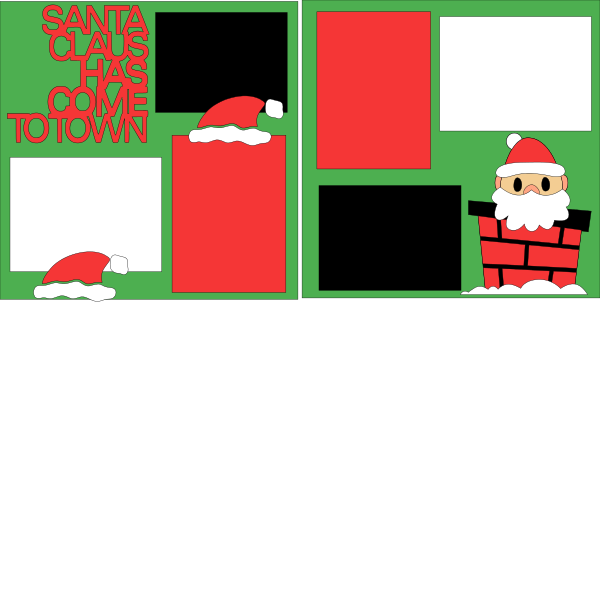 Santa Claus is coming to town --  page kit