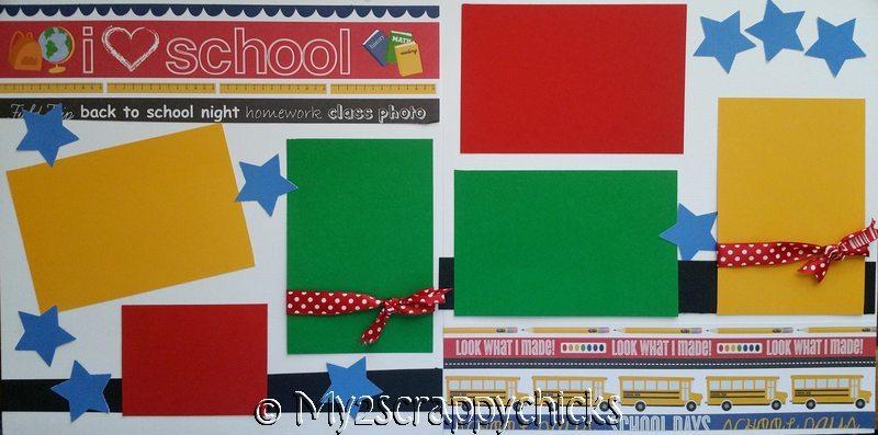 I LOVE SCHOOL  *  Page kit